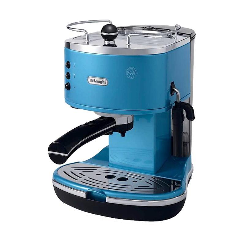 MACCHINA DA CAFFE\' ESPRESSO MACINATO DE LONGHI ICONA BLUE ECO310.B ...