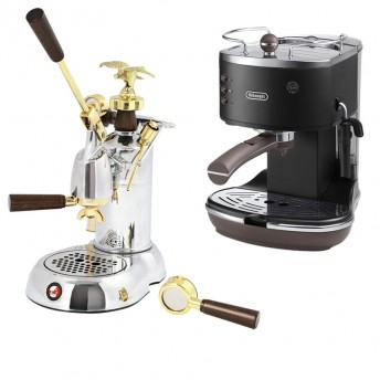 Manual home espresso machines